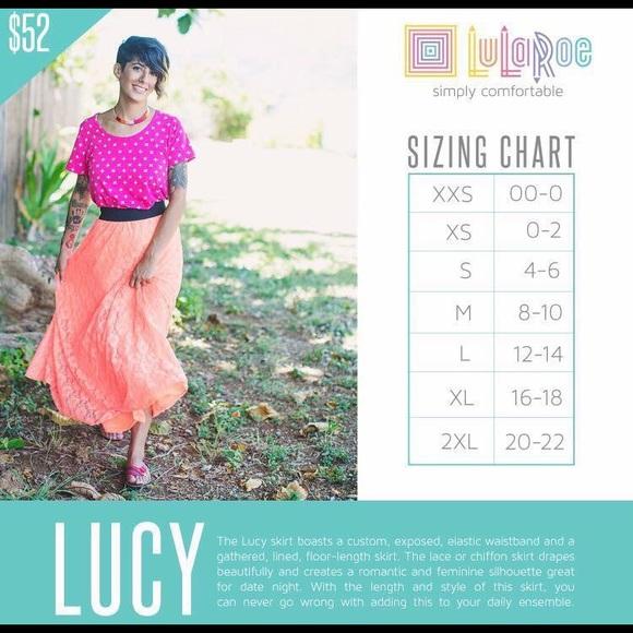LuLaRoe Dresses & Skirts - LuLaRoe Lucy Skirt